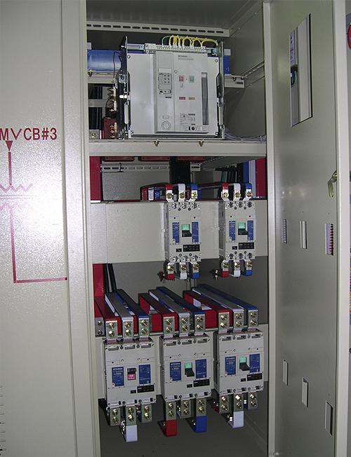 塔吊配电箱接线图维修
